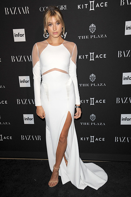 hailey-baldwin Harper's Bazaar Icons Event in New York